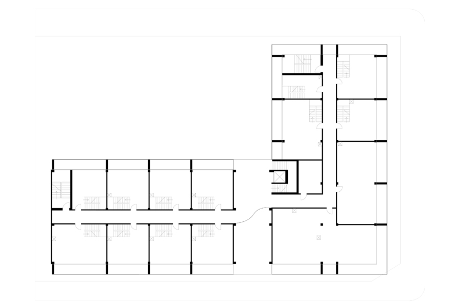 Architecture on Time Axis - Third Floor Plan