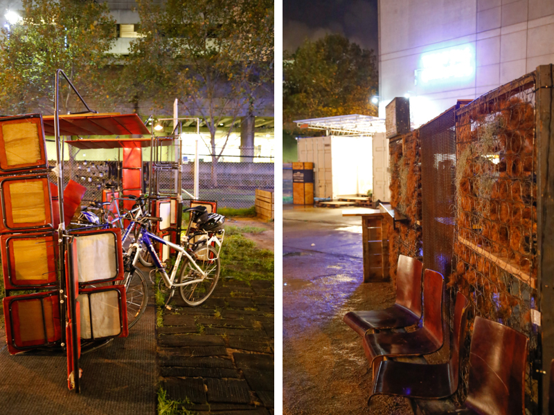 One:One Installation - Bike and Bar